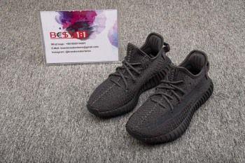Replica Adidas Yeezy Boost 350 V2 Static Black (Reflective