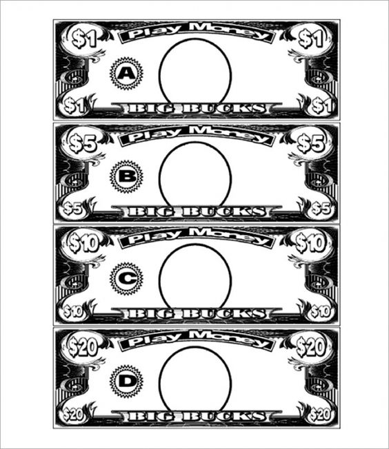 10 Bucks Play Money Template Looking For Printable Play Money 10 Dollar Bills Download This Printabl Play Money Template Printable Play Money Money Template