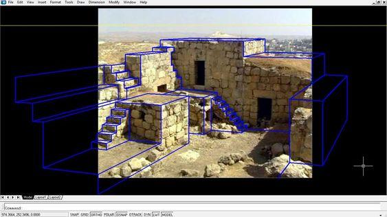 لوحة11: تجرية الامتحان النهائي لمادة مهارات اتصال معماري حول تصميم الجديد كامتداد للنمط القديم ولكن بشكل حديث