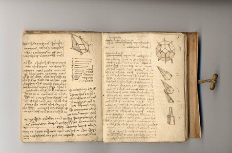Leonardo da Vinci was a positively prolific writer. 13,000 pages of his writings have come down to us, and there may be another 10,000 which have gone missing.: