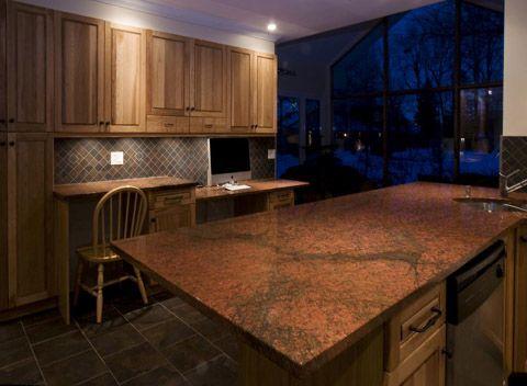 Osez la couleur pour votre cuisine pour cette cr ation for De cuisines conviviales