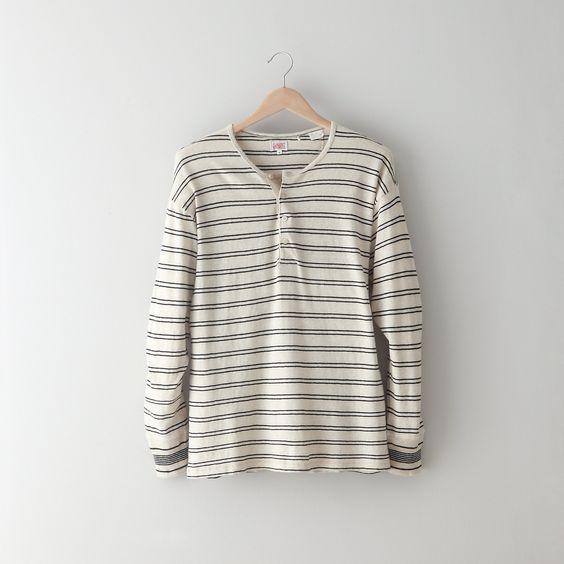 Levi's Vintage Clothing 1988's Henley Shirt
