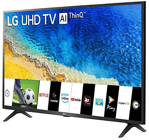 Lg 108 Cm 43 Inches 4k Ultra Hd Smart Led Tv 43um7290ptf Ceramic Black Electronics Smart Televisions Home Theater Tv And Video Televisions Best News Smart Televisions Smart Tv Led Tv