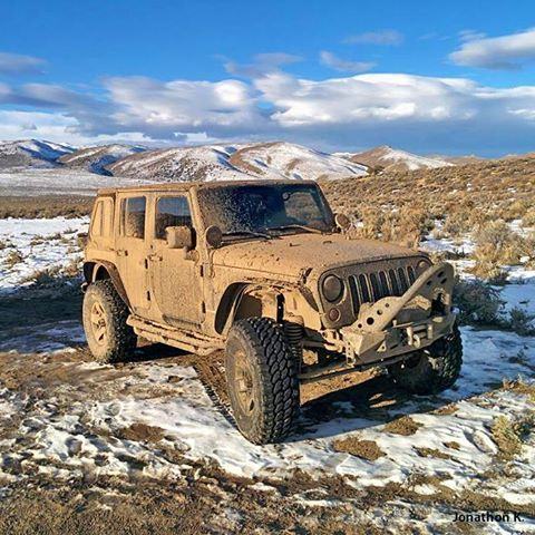 Mud or snow, your Wrangler goes where you want to go.