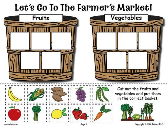 image about Printable Fruit and Vegetables identified as Absolutely free Printable Culmination and Veggies Sorting Worksheet
