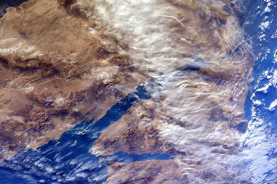 Un giorno molto ventoso sulla penisola del Sinai