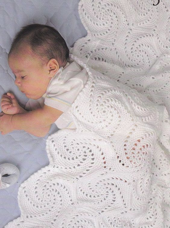 Lovely Baby Afghan Crochet Patterns 8 Classic by PaperButtercup ...