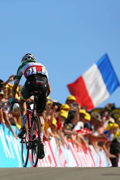 104th Tour De France 2017 Stage 5 Arrival Fabio Aru Vittel La Planche Des Belles Filles 1035m Tdf Tour De France Bike Ride Professional Cycling