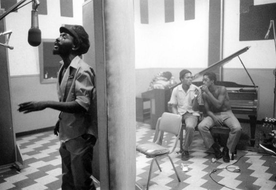 BURNING SPEAR - '75 Studio Session  © David Burnett