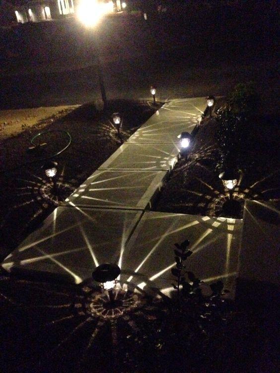 HGTV path lights from Costco
