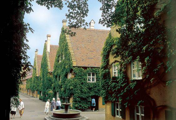 Existe uma Vila na Alemanha cujo aluguel nunca aumentou desde 1520. Você gasta 88 CENTAVOS de Euro para morar lá durante um ano...