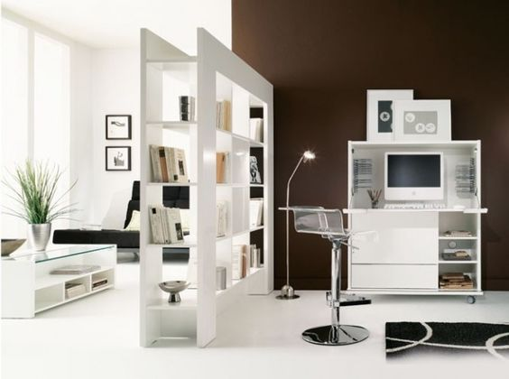 cloison biblioth que mur de separation pinterest. Black Bedroom Furniture Sets. Home Design Ideas