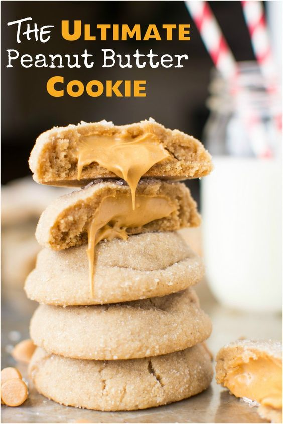 The Ultimate Peanut Butter Cookie - A baJillian Recipes