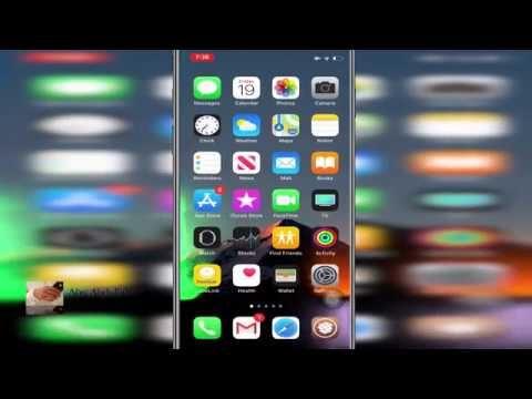 اداة Vibrancy للتحكم في شفافية وشكل الاعدادات والدوك والكيبورد وخلفية الفولدر والاشعارات والرسائل Youtube Iphone Tablet Desktop Screenshot