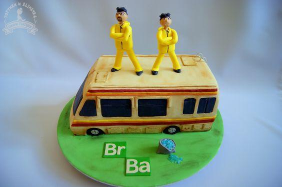 Breaking bad cake ideas, Heisenberg Breaking Bad Cake, meth candy, Breaking bad cake