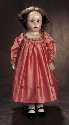 Bridgette Deval, rare doll dated 1989. Such a beautiful example of wax over porcelain.