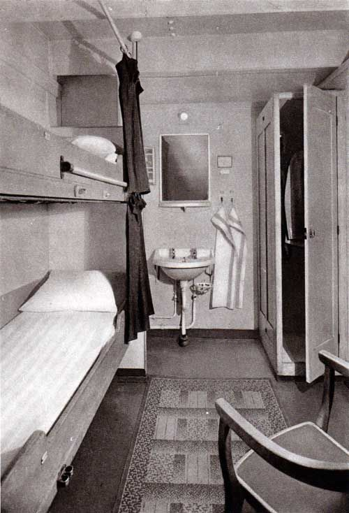 Third class stateroom anything goes props pinterest for First class cruise ship cabins