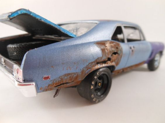 Ralf Becker - Selected Pieces Of Motorkultur - Classic Wrecks: Underhauling In 1-24th Scale