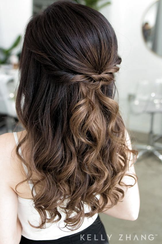 Prom Hairstyles Down For Medium Hair In 2020 Medium Hair Styles Prom Hair Medium Medium Length Hair Styles