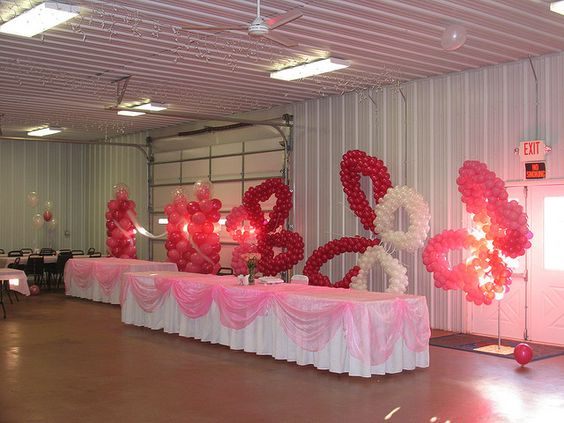 Quinceanera hall decorations recent photos the commons for Balloon decoration ideas for quinceaneras