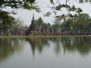 タイのスコータイの遺跡です。