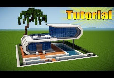 Minecraft Como Construir Una Casa Moderna Realista Tutorial De