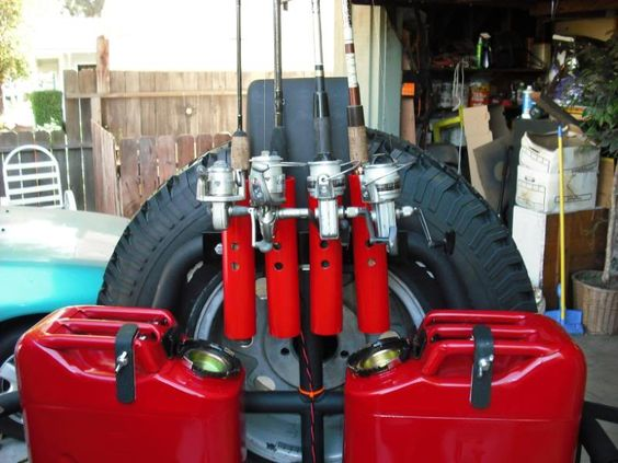 Jeep fishing rod holders black jeep society projects for Jeep fishing rod holder