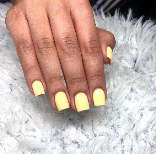 70 Short Square Acrylic Nail Designs 2018 Blackacrylicnails Acrylic Nails Yellow Short Square Acrylic Nails Square Acrylic Nails