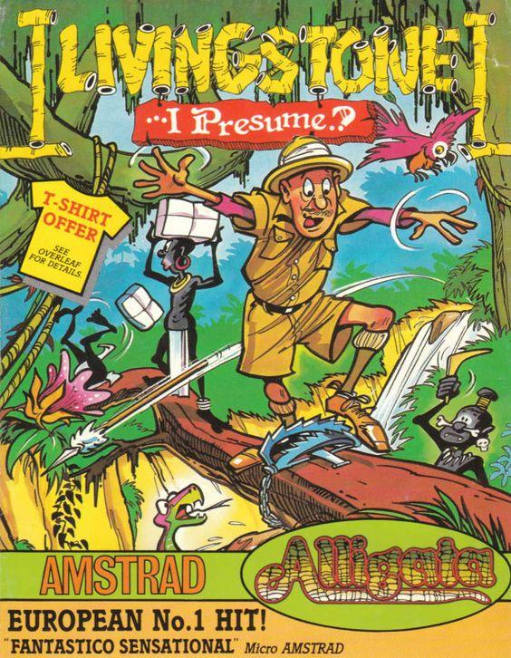 Livingstone supongo version inglesa Retro Gaming Pinterest - dr livingstone i presume book