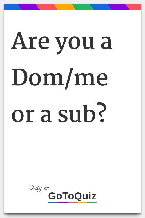 Pin On Dom And Sub