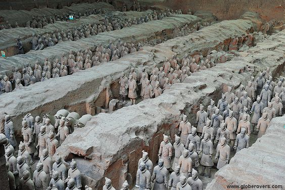 attraction shaanxi xian terra cotta army