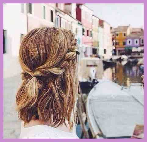 Nette Schnelle Und Einfache Frisuren Genel Zopf Kurze Haare T75 Zopf Kurze Haare Frisuren Kurze Haare Flechten Coole Frisuren