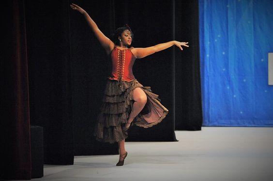 Spin skirt for ballet
