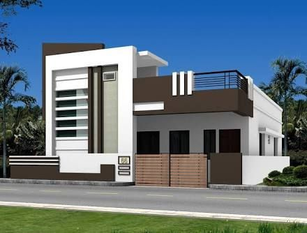 Indian Home Alivesan Design Single Floor