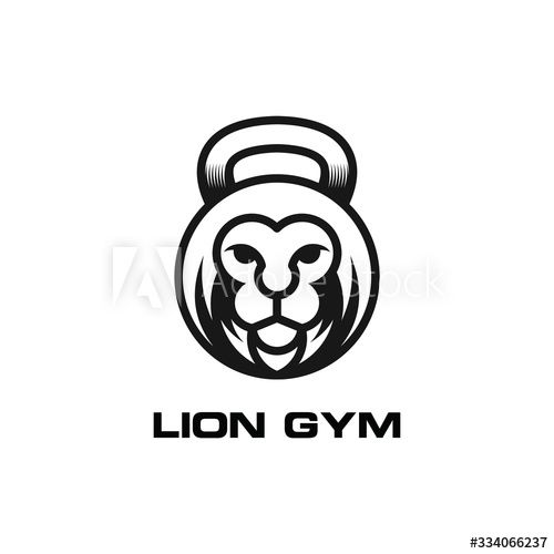 Lion Head Logo Fitness Fitness Gym Badge Illustration Buy This Stock Vector And Explore Similar Vectors At Adobe Sto Lion Head Logo Fitness Logo Gym Badges