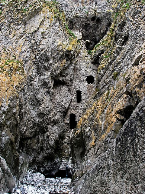 Culver Hole, Gower Peninsula, Wales. Someday I'll go here.