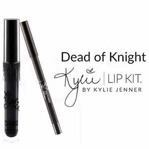 Hot Selling! New Makeup Gloss Lipstick Lip Kit Set by Kylie Jenner Color - Dead of Knight