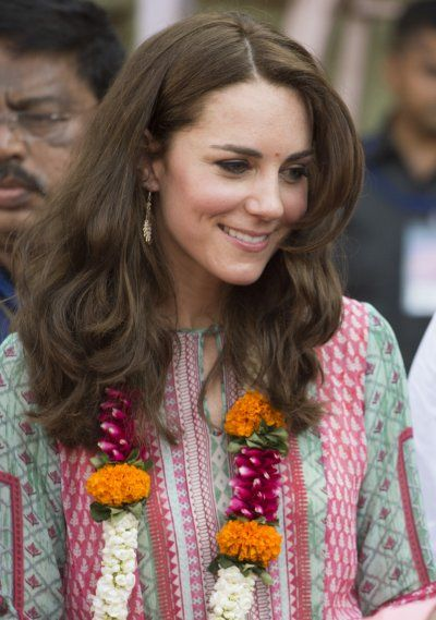Mumbai-born designer Anita Dongre who employs artisans to work using traditional skills to create her dresses, was favoured by the duchess who wore one of her designs to a cricket match.: