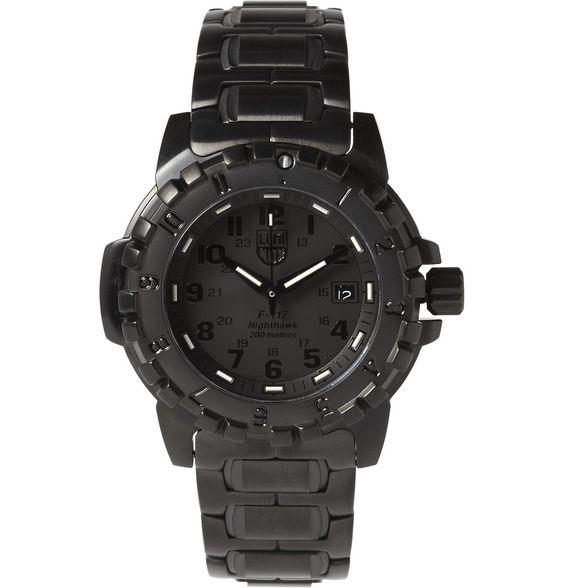 Luminox6400 Series Brushed Steel Watch