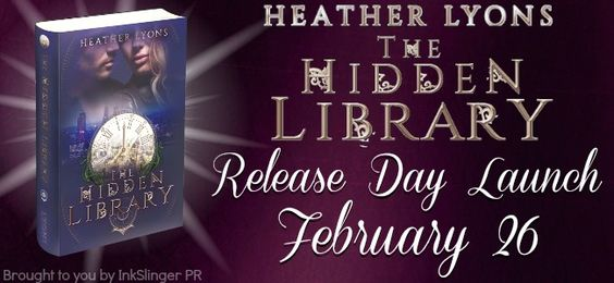 Release Day Launch: The Hidden Library by @hymheather  http://twinsistersrockinreviews.blogspot.com/2015/02/release-day-launch-hidden-library-by.html
