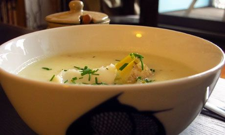 Cullen Skink. This smoked haddock chowder from the Moray Firth is definitely one of my favourite soupy meals.