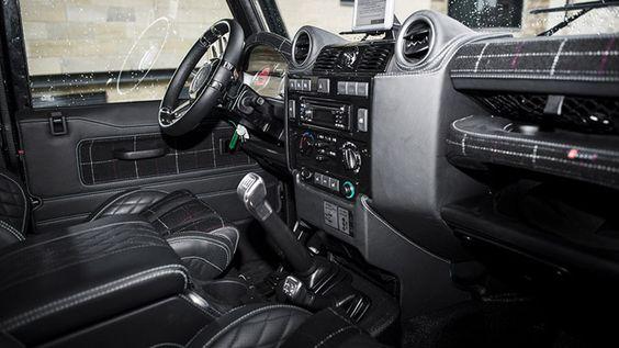 Kahn Design Land Rover Defender SVX Modifiziert | Tuning | Pinterest