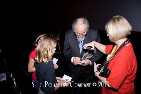 #DVF26 George Schlatter signs autographs