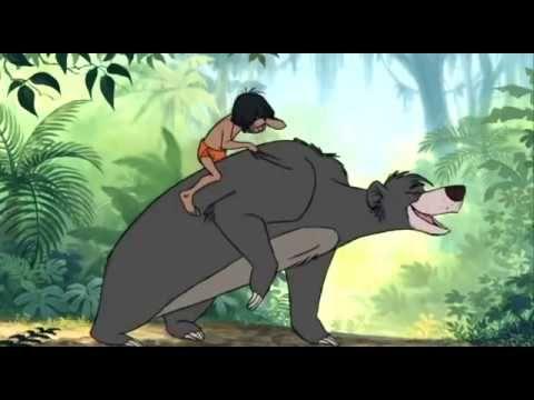 Dschungelbuch Balu Und Mogli Probier S Mal Mit Gemutlichkeit Youtube Urso Desenhos Gestual
