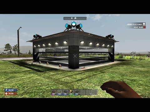7 Days To Die Console My Best Horde Base Youtube 7 Days To Die