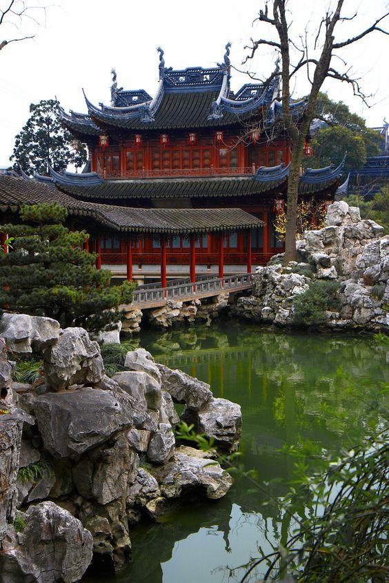 Yuyuan Garden, Kína