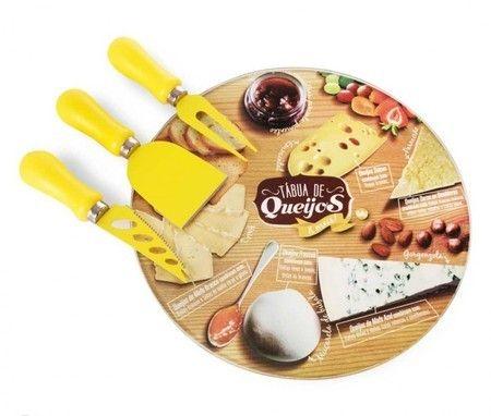Tabua de queijos