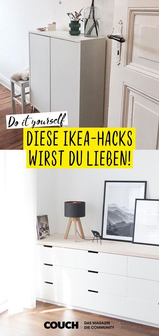 Ikea Hacks So Machst Du Deine Mobel Zu Einzelstucken Egal Ob Du Wie Sophie Laura Dein Ivar Regal Aufmotzen Oder Diy Ikea Hacks Ikea Hack Storage Ikea Hack