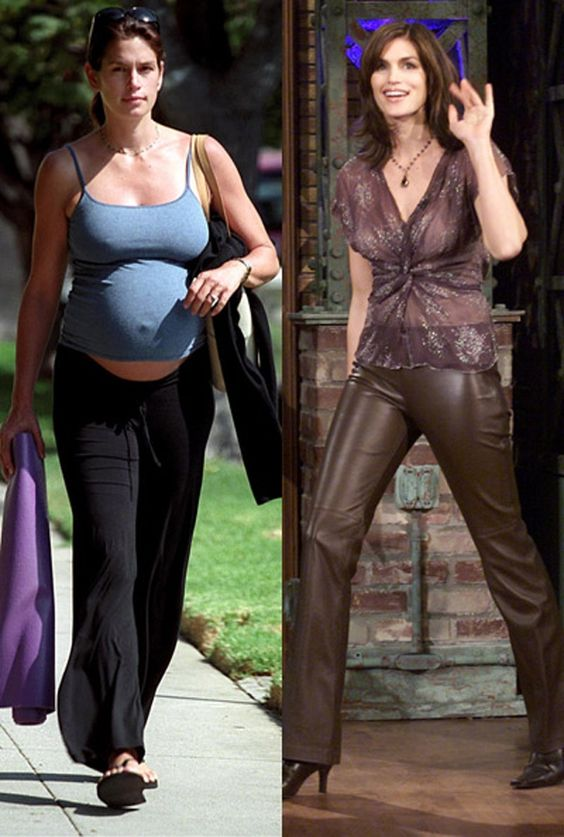 Cindy crawford pregnant-9002