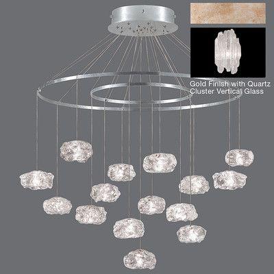 Fine Art Lamps Natural Inspirations 15 Light Chandelier Finish: